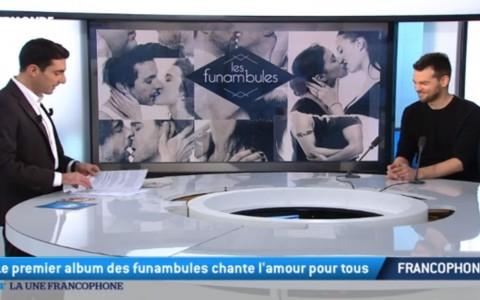 <b>TV5</b> &#8211; 64&prime; &#8211; La Une francophone