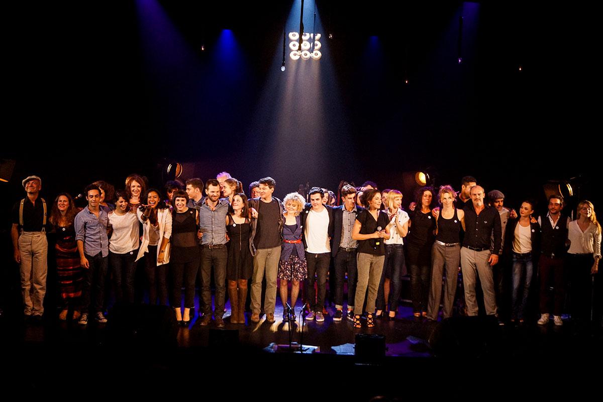 Concert au Vingtième Théâtre (2014) | 201410 Funambules XXemeTheatre DamienRichard 100
