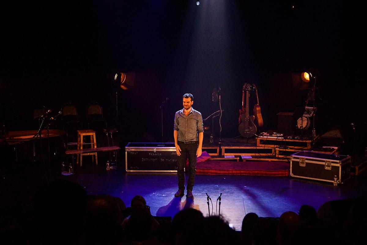 Concert au Vingtième Théâtre (2014) | 201410 Funambules XXemeTheatre DamienRichard 102