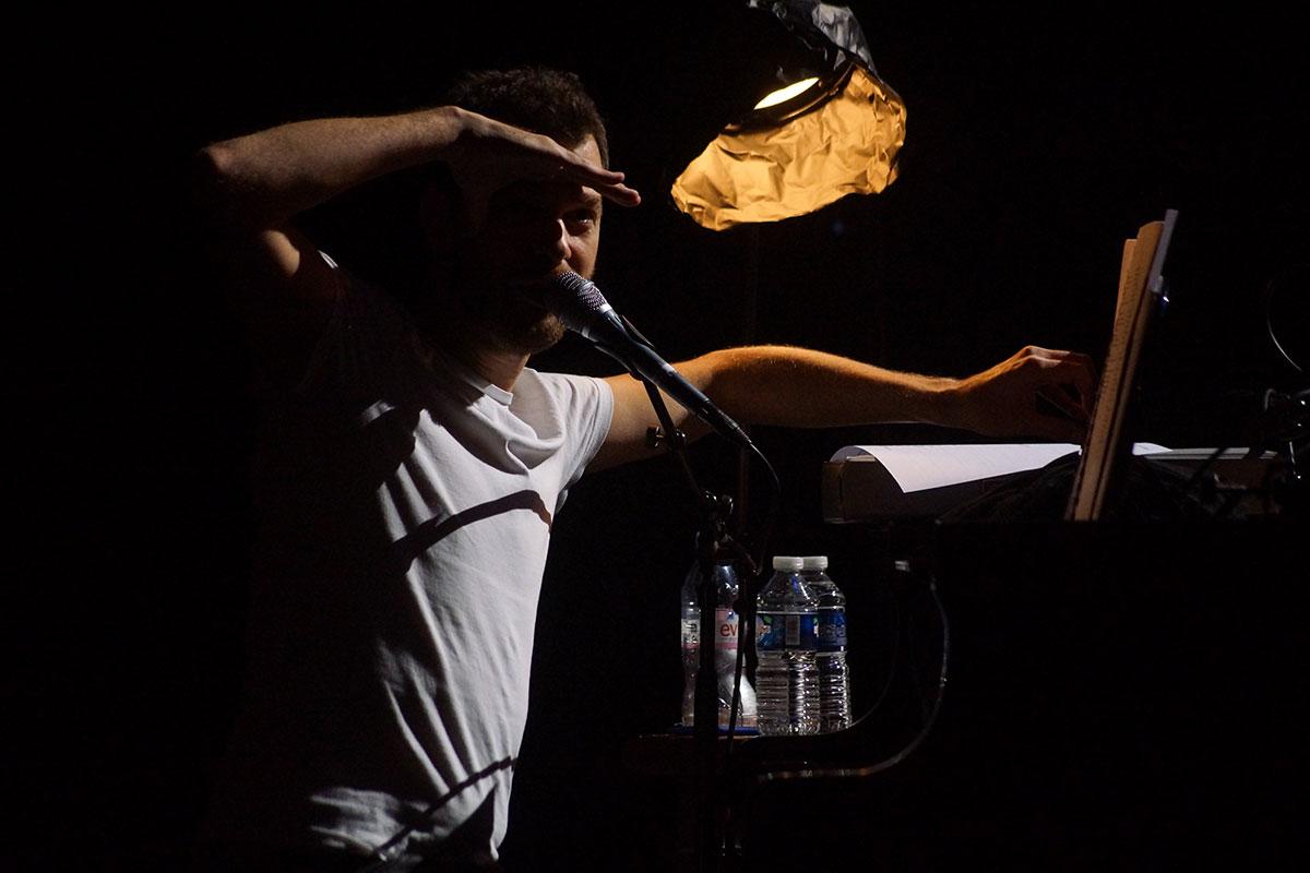 Concert au Vingtième Théâtre (2014) | 201410 Funambules XXemeTheatre DamienRichard 16