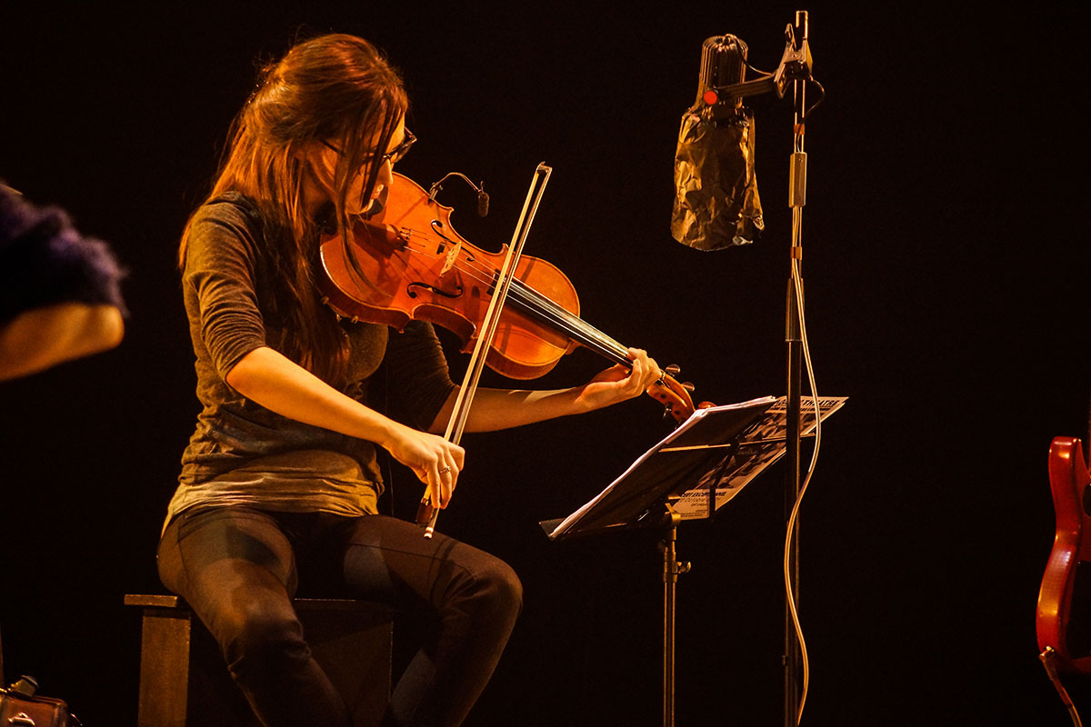 Concert au Vingtième Théâtre (2014) | 201410 Funambules XXemeTheatre DamienRichard 21