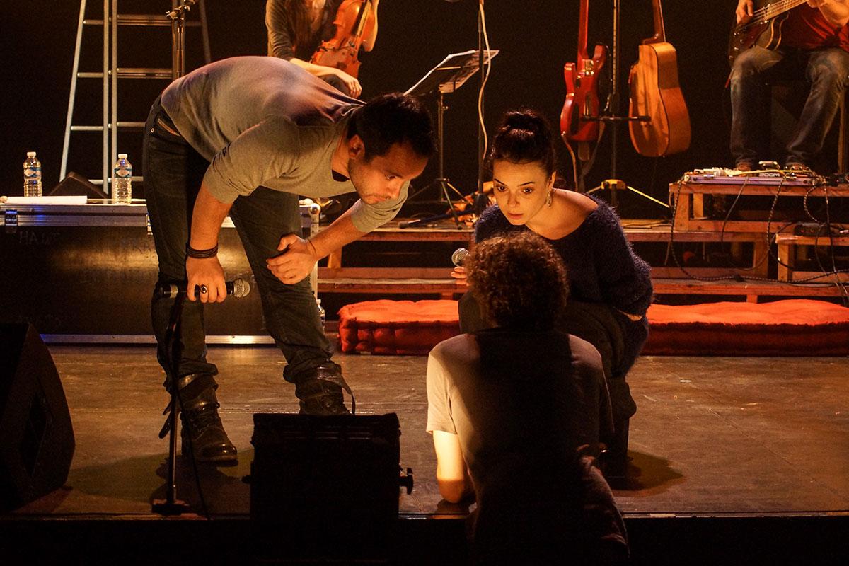 Concert au Vingtième Théâtre (2014) | 201410 Funambules XXemeTheatre DamienRichard 22