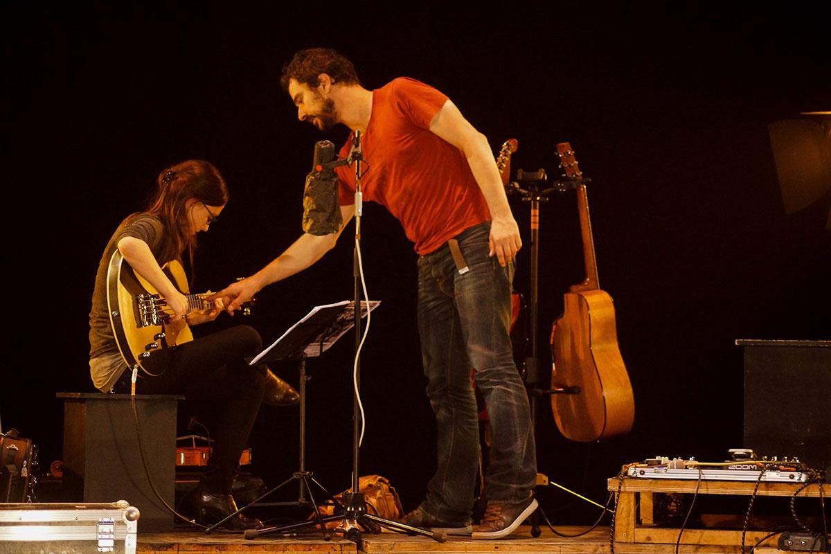Concert au Vingtième Théâtre (2014) | 201410 Funambules XXemeTheatre DamienRichard 23