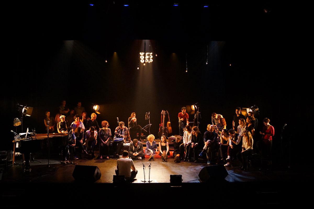 Concert au Vingtième Théâtre (2014) | 201410 Funambules XXemeTheatre DamienRichard 27