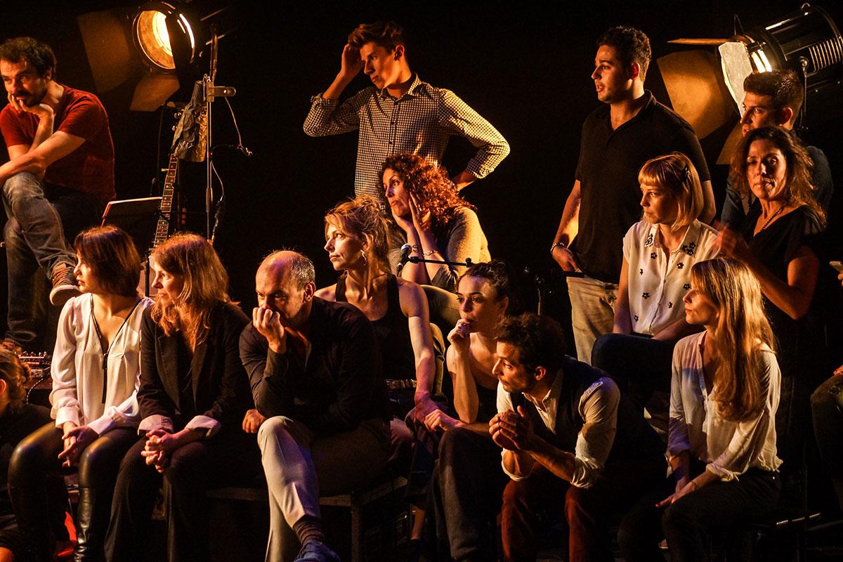 Concert au Vingtième Théâtre (2014) | 201410 Funambules XXemeTheatre DamienRichard 28