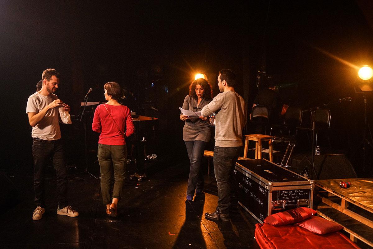 Concert au Vingtième Théâtre (2014) | 201410 Funambules XXemeTheatre DamienRichard 33