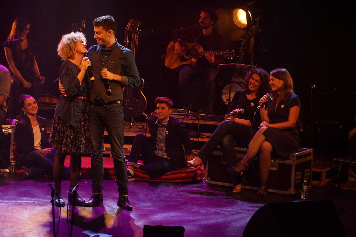 Concert au Vingtième Théâtre (2014) | 201410 Funambules XXemeTheatre DamienRichard 48
