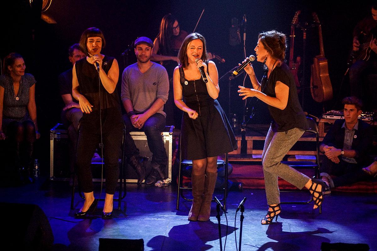Concert au Vingtième Théâtre (2014) | 201410 Funambules XXemeTheatre DamienRichard 52