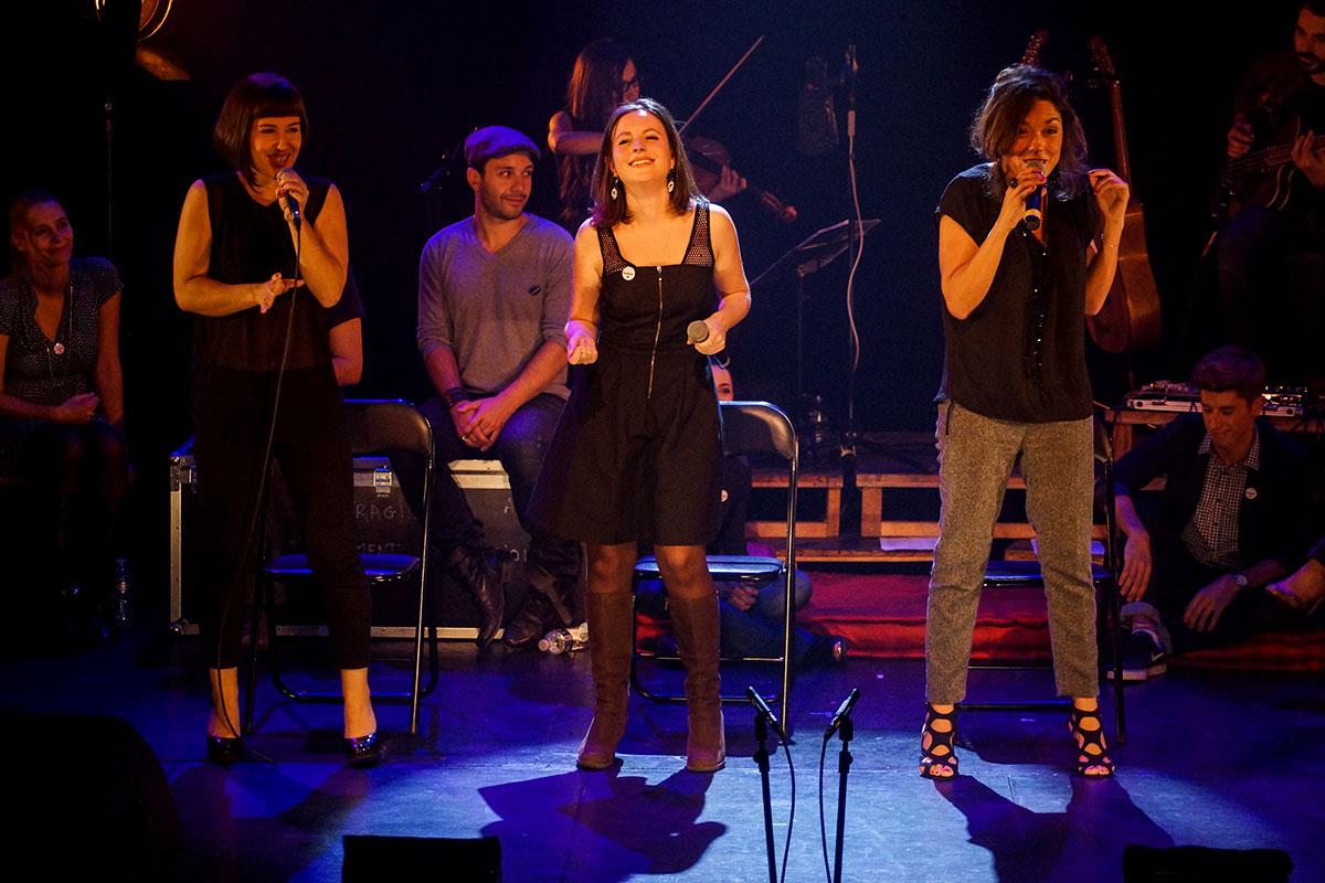 Concert au Vingtième Théâtre (2014) | 201410 Funambules XXemeTheatre DamienRichard 53