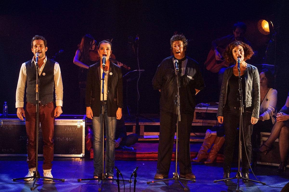 Concert au Vingtième Théâtre (2014) | 201410 Funambules XXemeTheatre DamienRichard 79