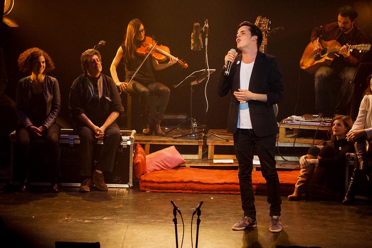 Concert au Vingtième Théâtre (2014) | 201410 Funambules XXemeTheatre DamienRichard 87