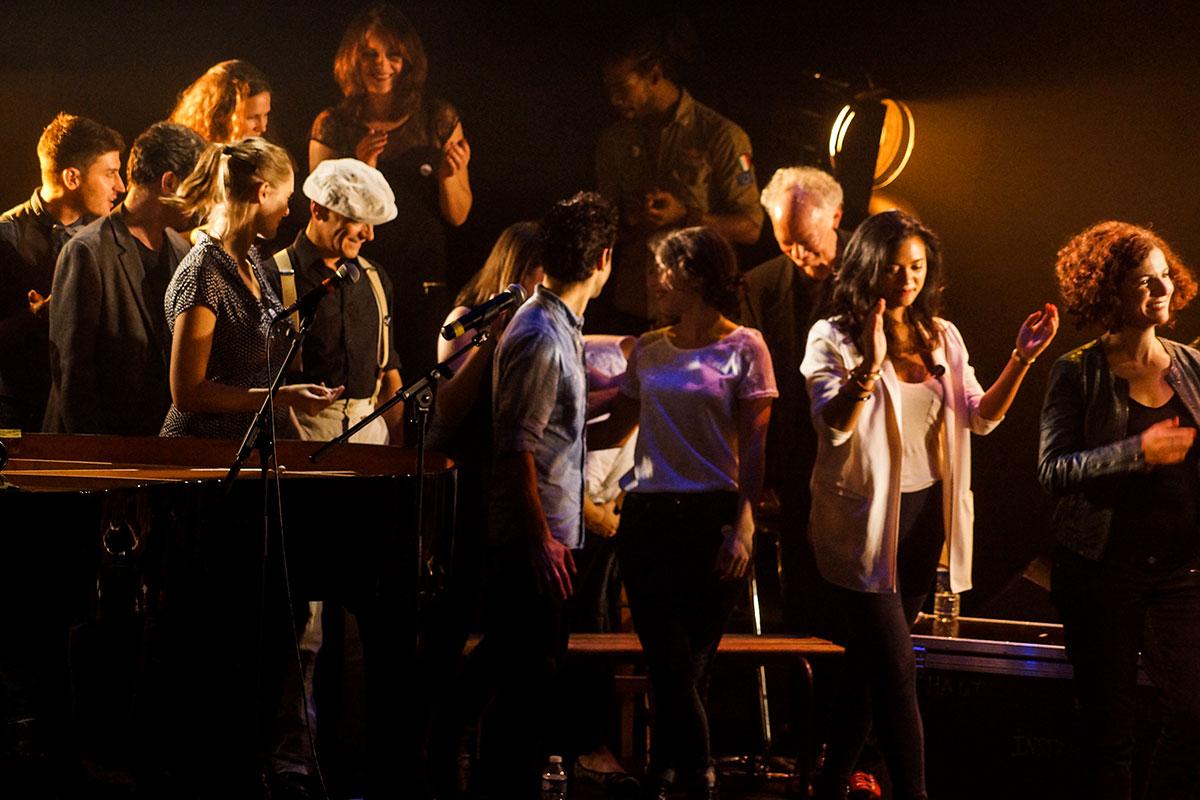 Concert au Vingtième Théâtre (2014) | 201410 Funambules XXemeTheatre DamienRichard 88