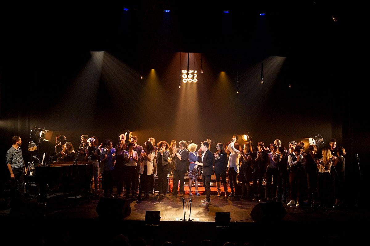 Concert au Vingtième Théâtre (2014) | 201410 Funambules XXemeTheatre DamienRichard 89
