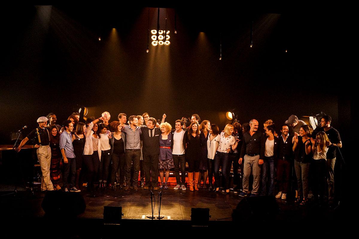 Concert au Vingtième Théâtre (2014) | 201410 Funambules XXemeTheatre DamienRichard 90