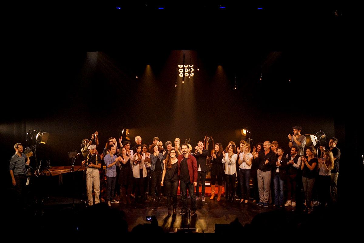 Concert au Vingtième Théâtre (2014) | 201410 Funambules XXemeTheatre DamienRichard 91