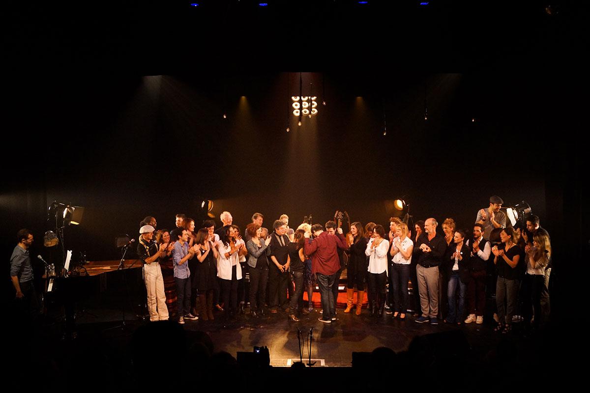 Concert au Vingtième Théâtre (2014) | 201410 Funambules XXemeTheatre DamienRichard 92