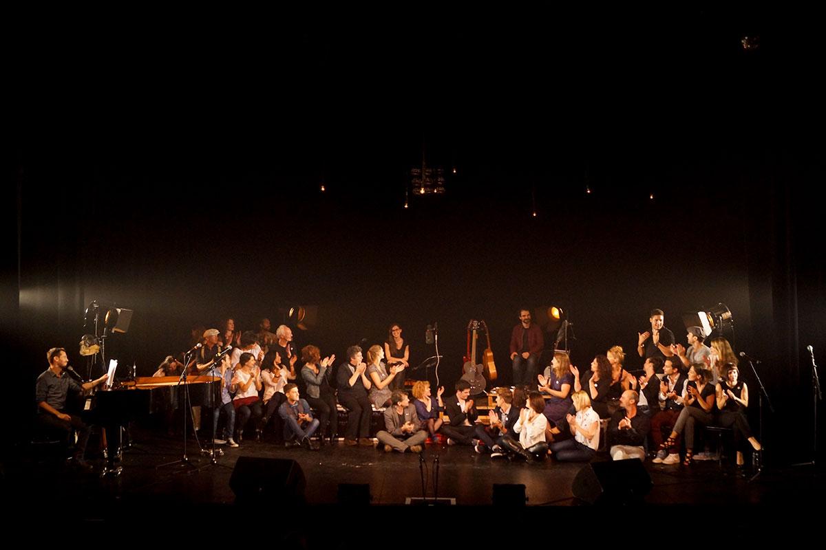 Concert au Vingtième Théâtre (2014) | 201410 Funambules XXemeTheatre DamienRichard 93