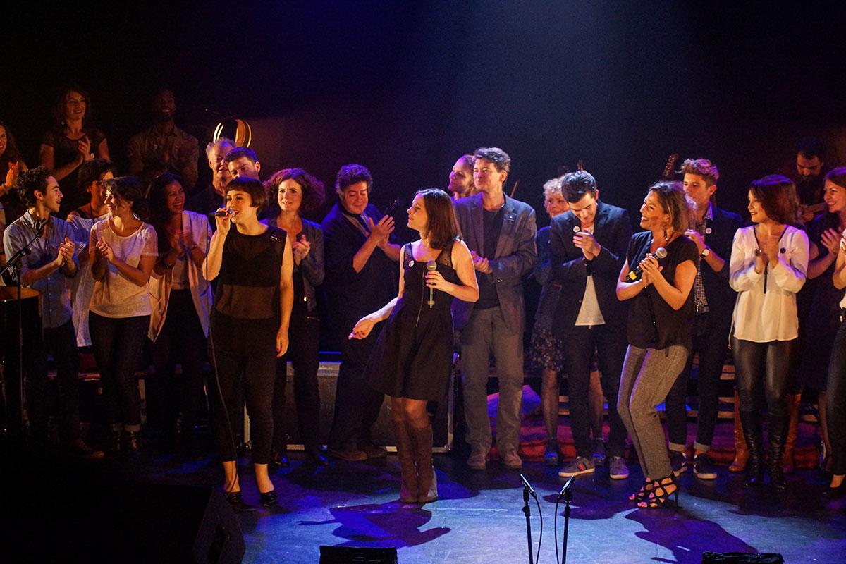 Concert au Vingtième Théâtre (2014) | 201410 Funambules XXemeTheatre DamienRichard 97