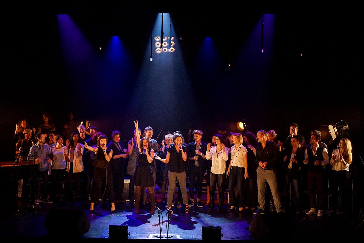 Concert au Vingtième Théâtre (2014) | 201410 Funambules XXemeTheatre DamienRichard 98