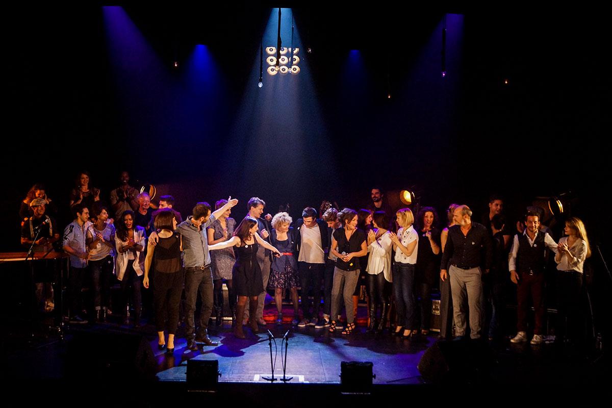 Concert au Vingtième Théâtre (2014) | 201410 Funambules XXemeTheatre DamienRichard 99